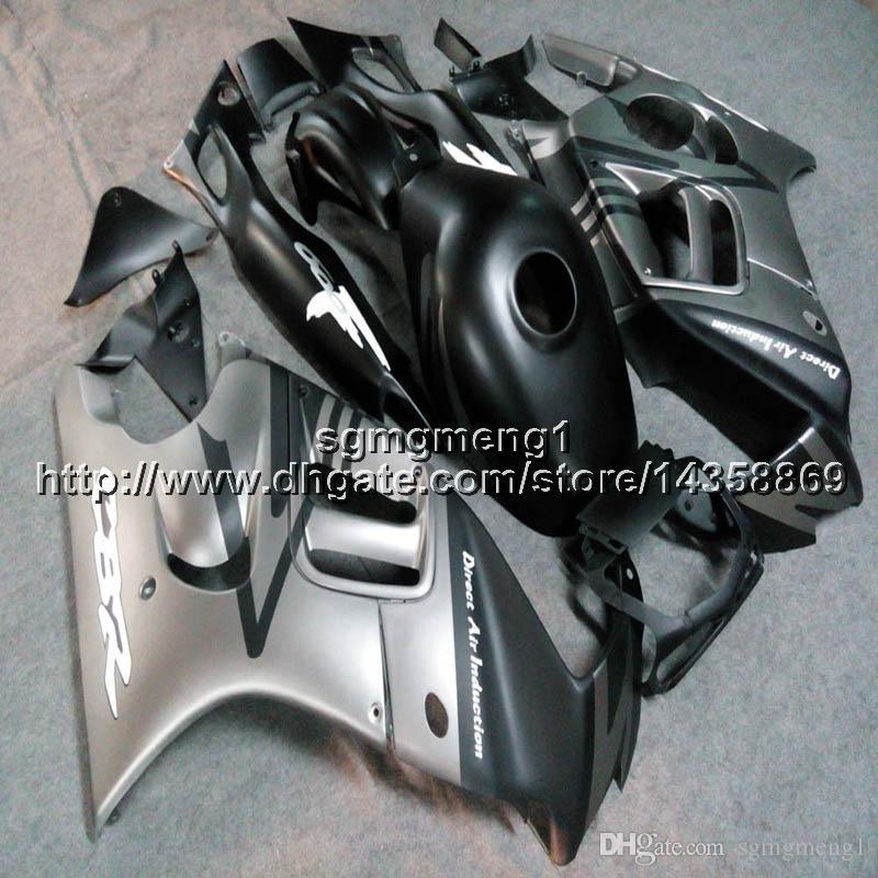 23colors+Botls silver black motorcycle hull for HONDA CBR 600F3 1997-1998 CBR600F3 97 98 ABS Plastic motor Fairing