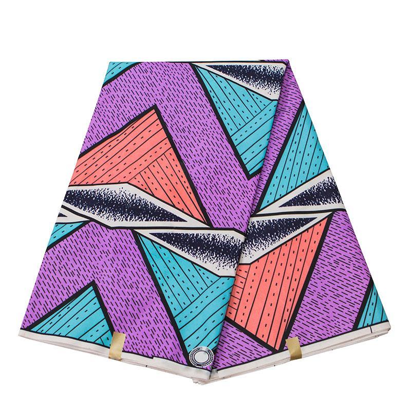 2020 Анкара Африканского полиэстер печатает воск ткань бинта реальный воск мягкий полиэстер ткани высокое качество Африканский ткань 6 ярдов для платье Z001