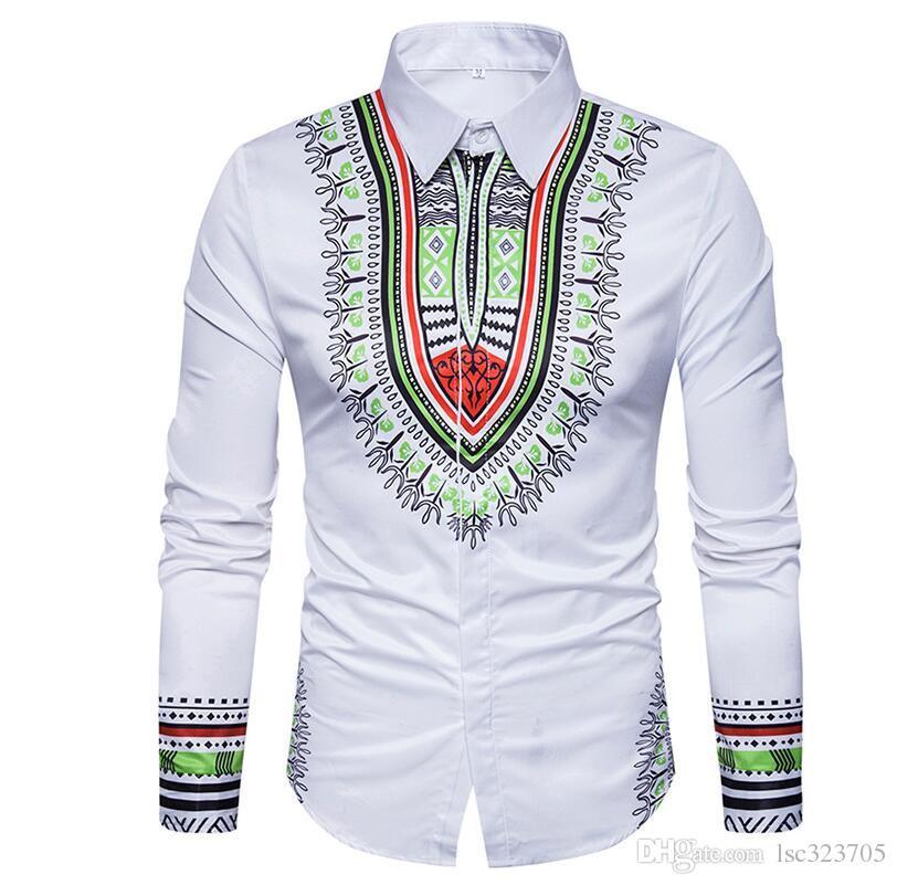 Nuevo 2019 Camisa de algodón puro de hombre Slim Fit Moda Manga larga Casual Camisas de negocios Hombres Camisas de vestir Camisas de alta calidad