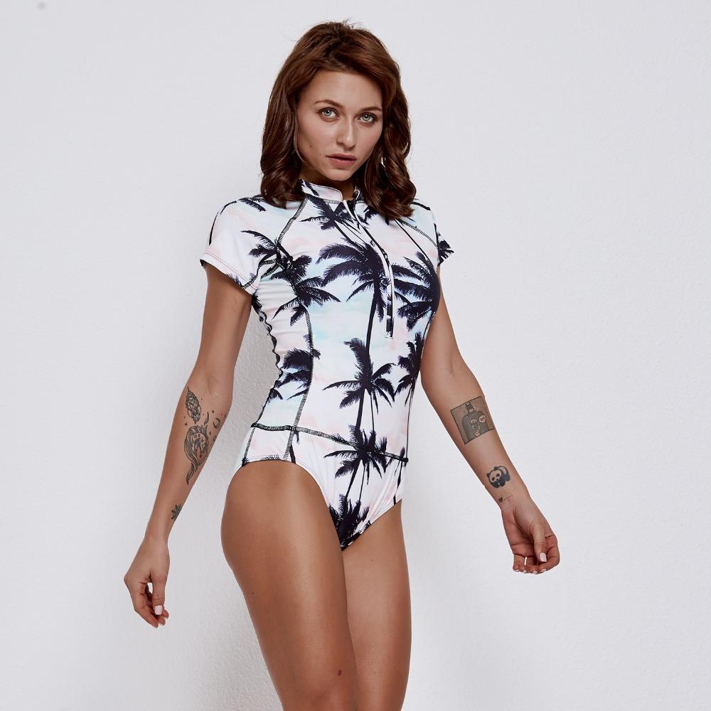 Traje de baño de una pieza de surf de moda para mujer Trajes de baño elegantes de alta calidad Traje de baño cómodo Traje de baño talla grande XXL