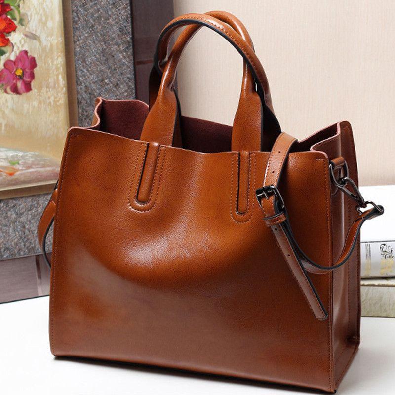 Настоящая воловья кожа женская сумка Messenger сумки на ремне дамы натуральная кожа ведро Сумки сумка женщины тотализатор коричневый мешок