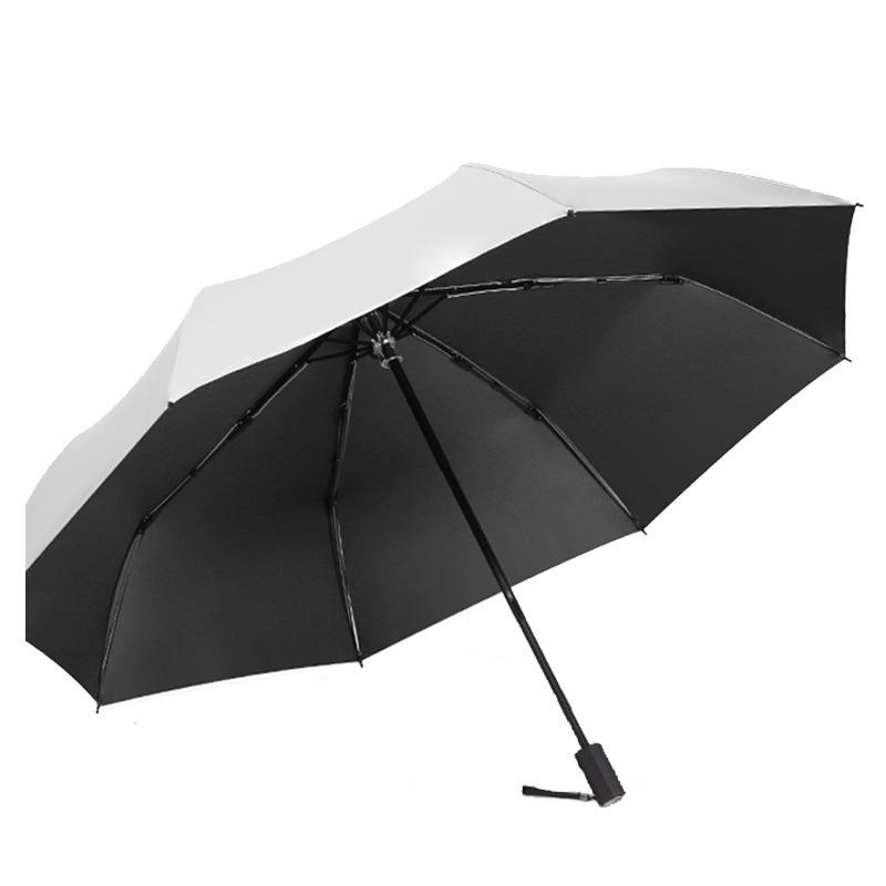 Резина ВС Зонтик для девочек Солнечной Дождливой Мода Зонта Увы Мужчину Guarda Chuva Space Зонтик Мужчина для HH50YS