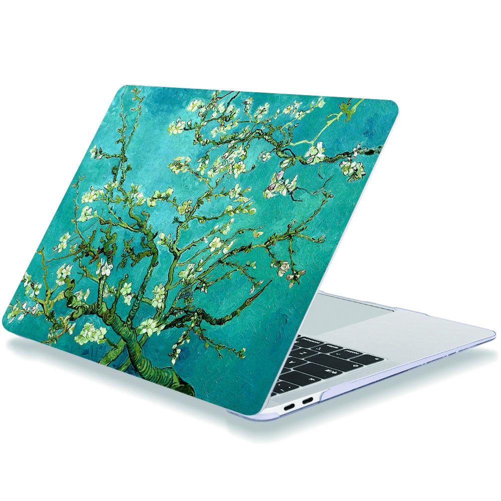 Case pour macbook macbook Pro / MacBook Air prunier 11/12/13/15/16 pouces de presse en plastique dur Shell Laptop Cover Tous les modèles Av