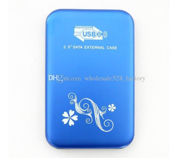 소매 패키지와 2.5 인치 HDD 외장 케이스의 USB 3.0 하드 드라이버 디스크 SATA 외장 스토리지 인클로저 알루미늄