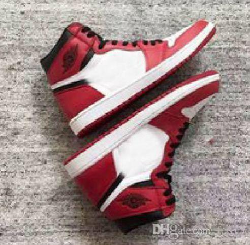 2019 новый топ 1 OG High Banned черный красный белый мужская повседневная обувь женская спортивная обувь для скейтбординга спортивные кроссовки мужские кроссовки 13