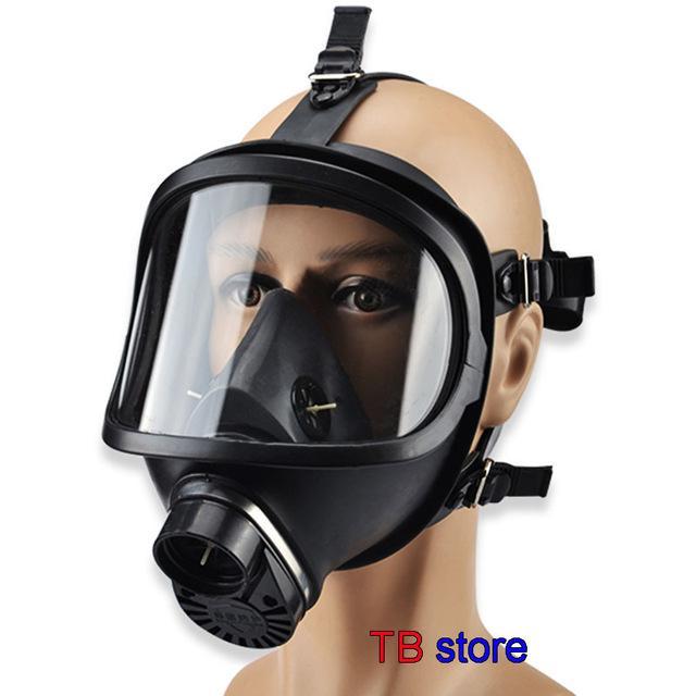 gaz MF14 masque biologique, et la contamination radioactive pleine face auto-amorçage masque masque à gaz classique 4.9