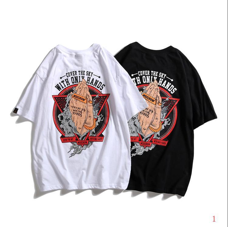 Luxe Hommes Femmes T-shirt printemps et l'été nouvelle mode T-shirt imprimé de marques Original 2 Couleur Taille sélectionné M-2XL PH-ZW2005111