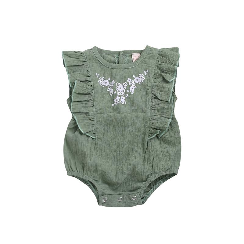 Summer Infant Baby Boy Clothes Sleeveless Romper Jumpsuit One-Pieces Outfit Set