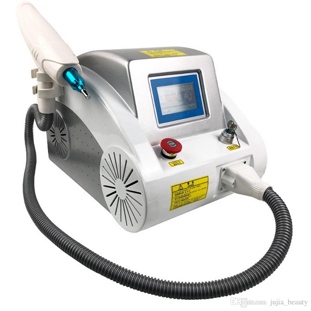 portátil 3 en 1 Q Switched láser de eliminación de tatuajes rejuvenecimiento de la piel y eliminación de pigmento balneario del salón de belleza máquina de uso doméstico YAG