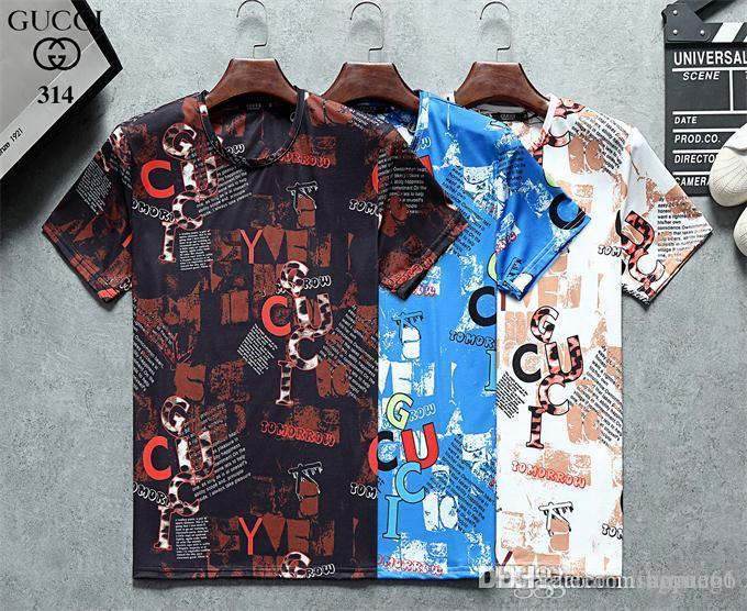 European and American high quality printed T-shirt is very suitable for Medusa men's T-shirt fashion casual shirt Asian size M-3XL