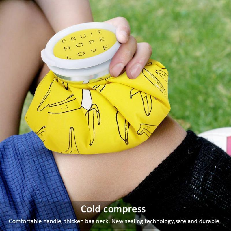 Cartoon Cold Hot Water Bag Reusable Ice Bag Cup Cold Therapy Pain Relief Heat Pack Injury First Aid Health Care Supplies