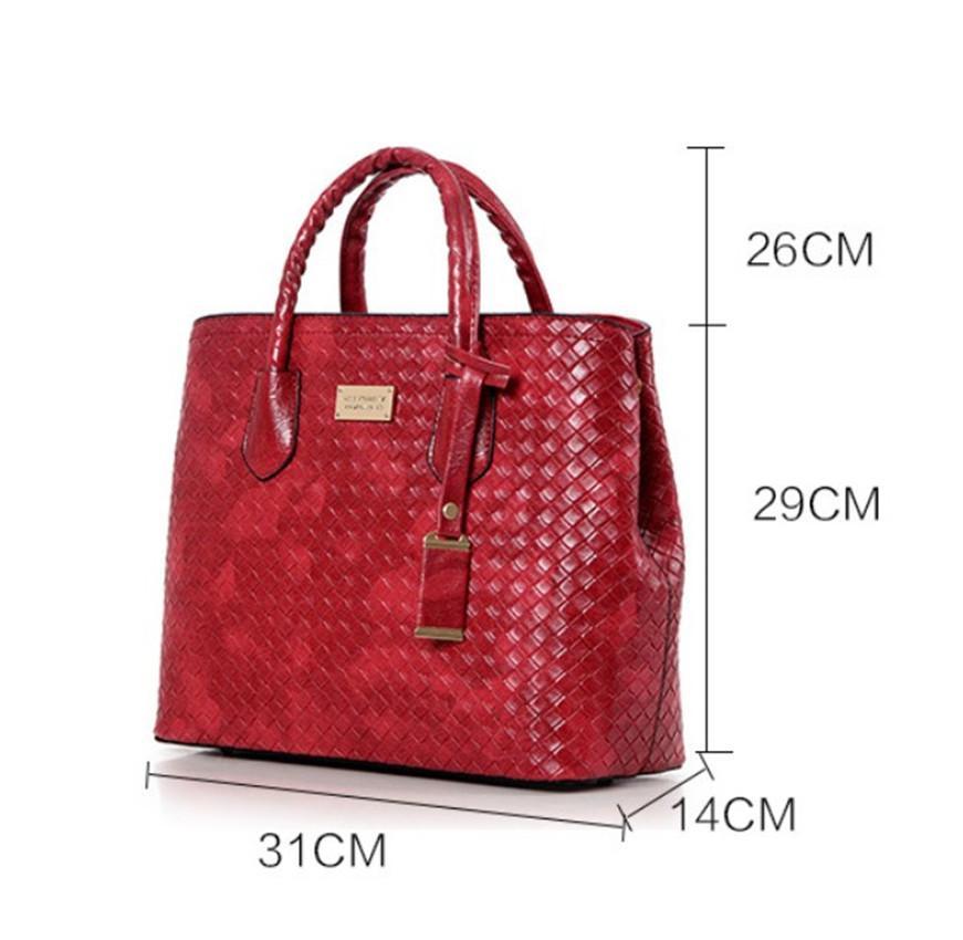 Модные сумки Модные Плетеный Mother сумка одно плечо Slant Six сумка PH-CFY20052552