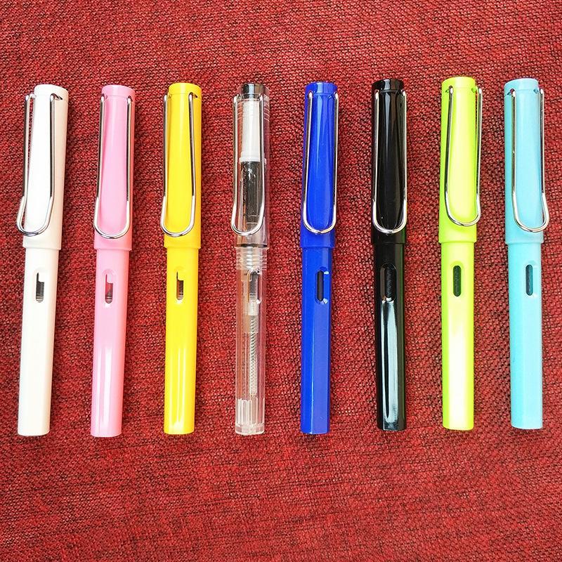 Usine direct 9 couleur coloré étudiant stylos gros business calligraphie calligraphie calligraphie cadeau stylo ensemble