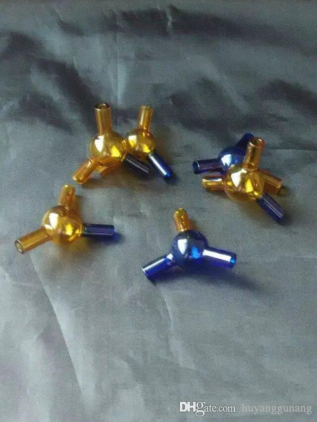 новые Три ссылки адаптер Оптовой стеклянных бонгов труба масло горелка стакан вода нефтяные вышки Курительная бесплатно