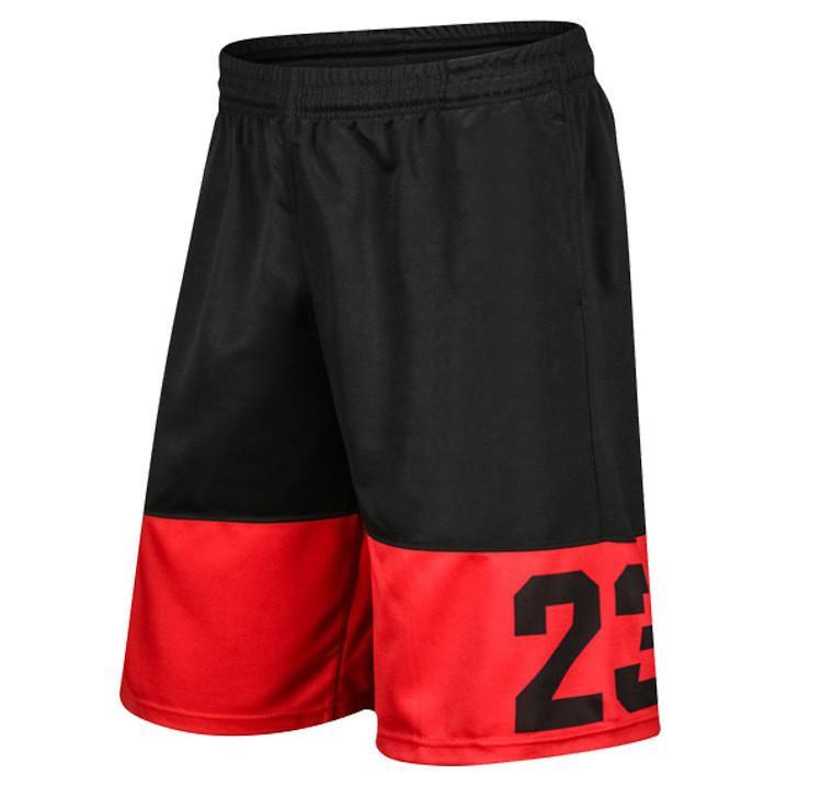 pantaloni da uomo modelli di estate di marca retrò mette in mostra i pantaloni modo classico collaterali normale cotone di grandi dimensioni Pantaloncini jogging sulla spiaggia gli uomini W-1