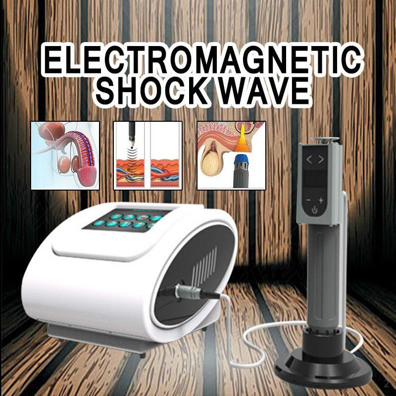 2020 Tragbarer EDSWT Stoßwellengeräte für ED-Funktion / Hot Verkauf electromagntick shcok Welle Physiotherapie Maschine für erctile Dysfunktion
