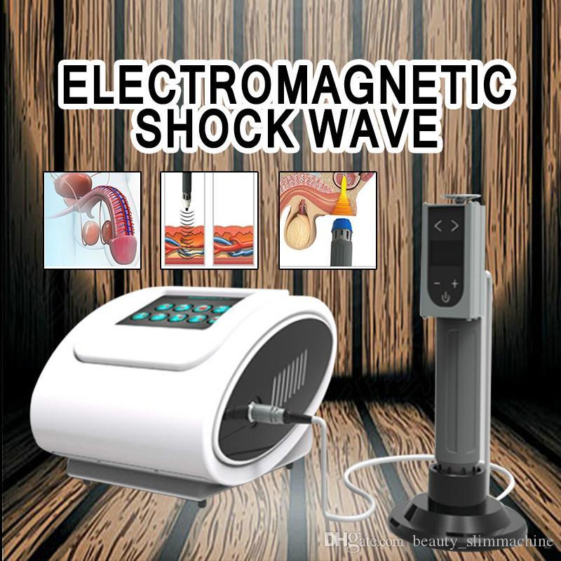 2020 équipement d'onde portable de choc EDSWT Pour la fonction ED / Hot vente electromagntick machine physiothérapie onde shcok pour le dysfonctionnement erctile