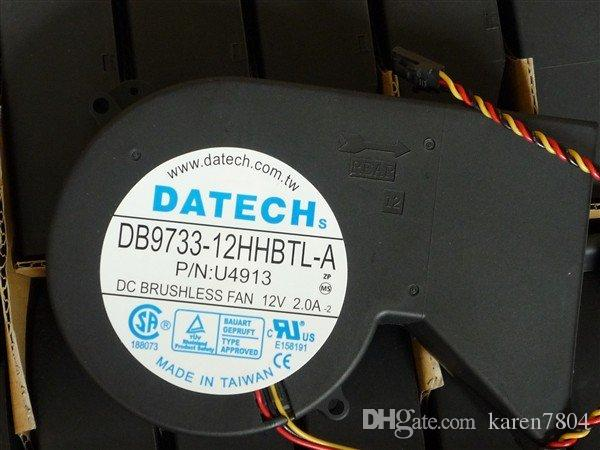 Originele nieuwe DATECH DB9733-12HHBTL-A 12V 2.0A voor P / N: 9G180 Blower Koelventilator