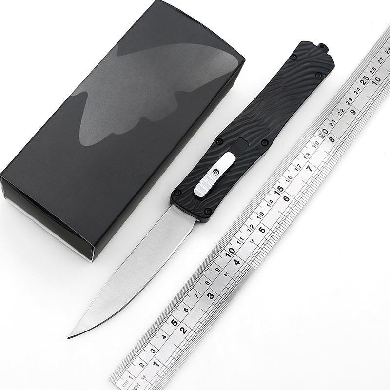 New BM exterior EDC OUT o utilitário tático combate acampamento Frente Faca automática caminhadas Auto facas de bolso faca de cozinha utensílio