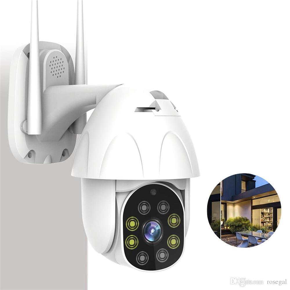 5 배 디지털 줌 1080P PTZ 무선 IP 카메라 야외 스피드 돔 무선 보안 카메라 팬 틸트 네트워크 감시 CCTV