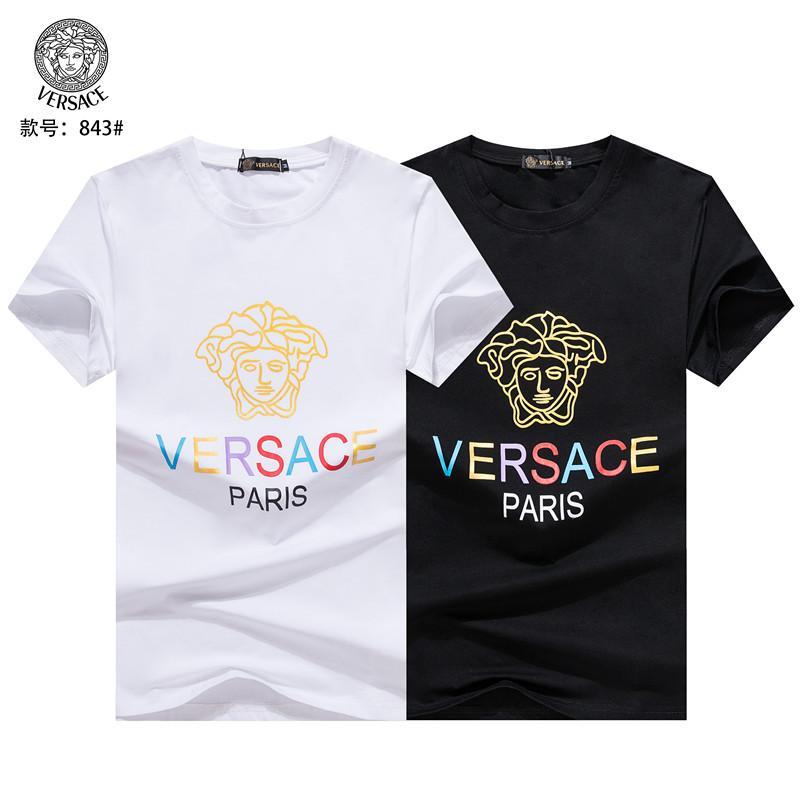2019 verano de los hombres de la ropa superior del diseño de la nueva llegada impresión de la camiseta de la medusa tamaño de la camiseta M-3XL 22028 44