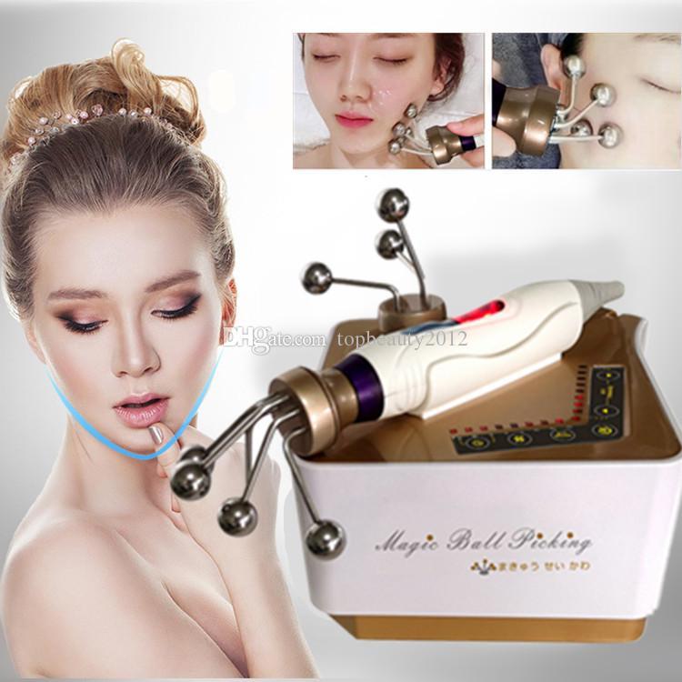 Visage Portable Magic Ball microcourants BIO Lift machine EMS visage Massager Galvanic Spa rides enlèvement périphérique Soins de la peau