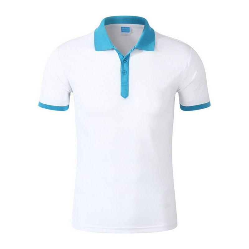 2019 남성 셔츠 높은 품질면 짧은 소매 셔츠 브랜드 여름 남성 대비 색 셔츠를 Litthing