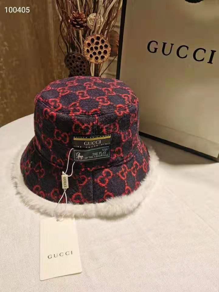 la mode automne-mode luxe hiver chapeau de pêcheur imprimer Lettre argent de haute qualité de style chaud womens casual classique seau chaud Cap 045