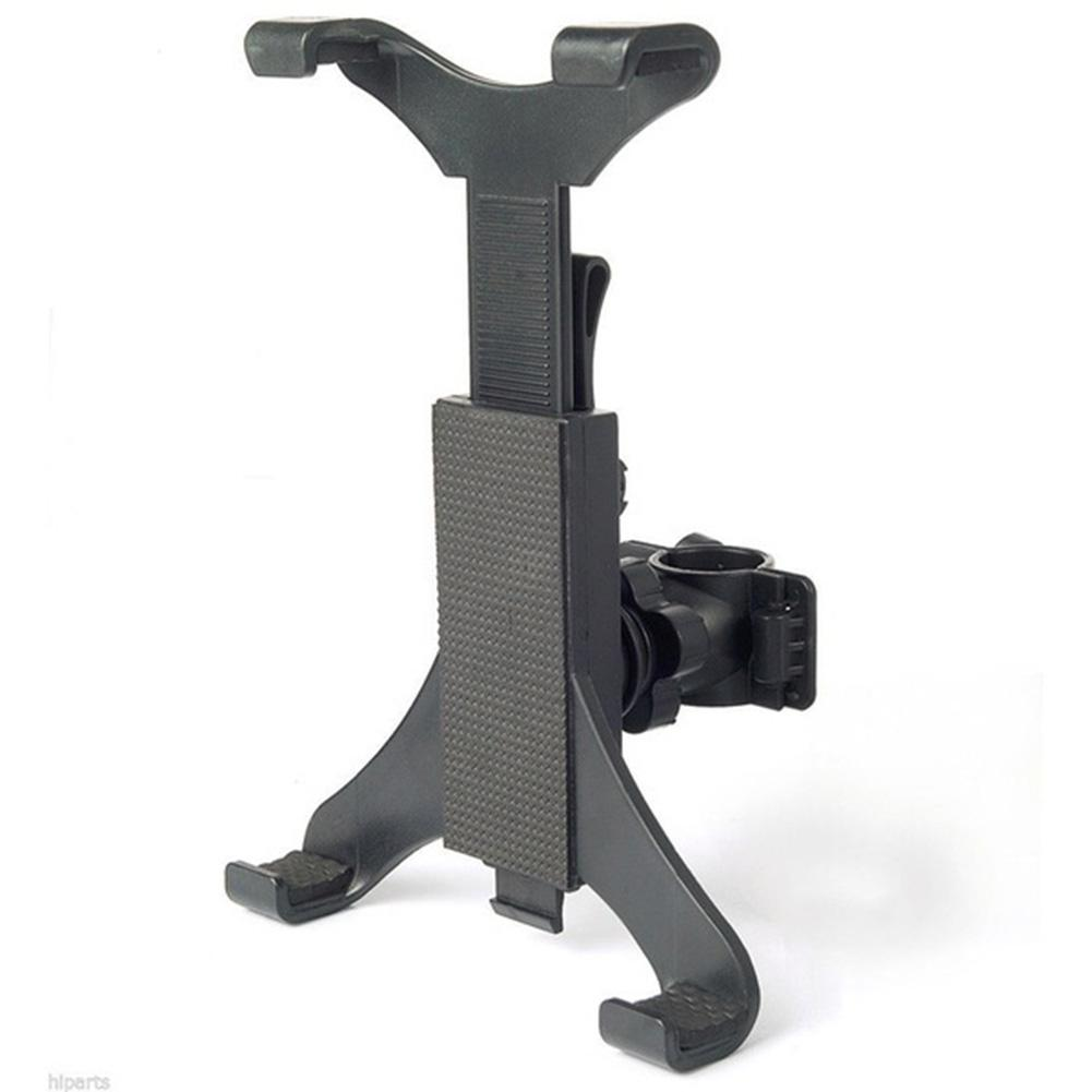 """Universal 7""""-10"""" Tablet Mount Holder Microphone Music Stand Clamp Bike"""