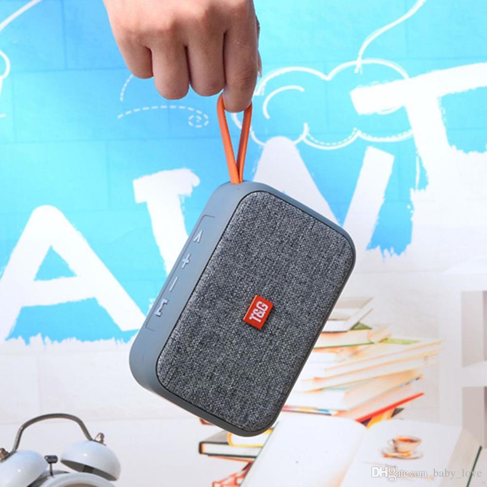 Altoparlante portatile TG 506 Altoparlante Bluetooth impermeabile Subwoofer esterno Super Bass Altoparlanti wireless Box a colonna Mini altoparlante FM TF