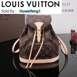 huweifeng1 opp PM M51137 old flower BACKPACKS FASHION SHOWS OXIDIZED LEATHER BUSINESS BAGS HANDBAGS TOTES MESSENGER BAGS
