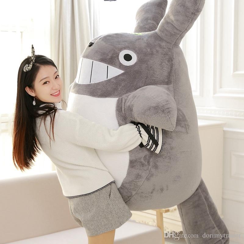 Kawaii Soft Jumbo Totoro Plush Toy Giant Anime Totoro Doll Toys Cartoon Stuffed Pillow for Children friend Gift DY50595
