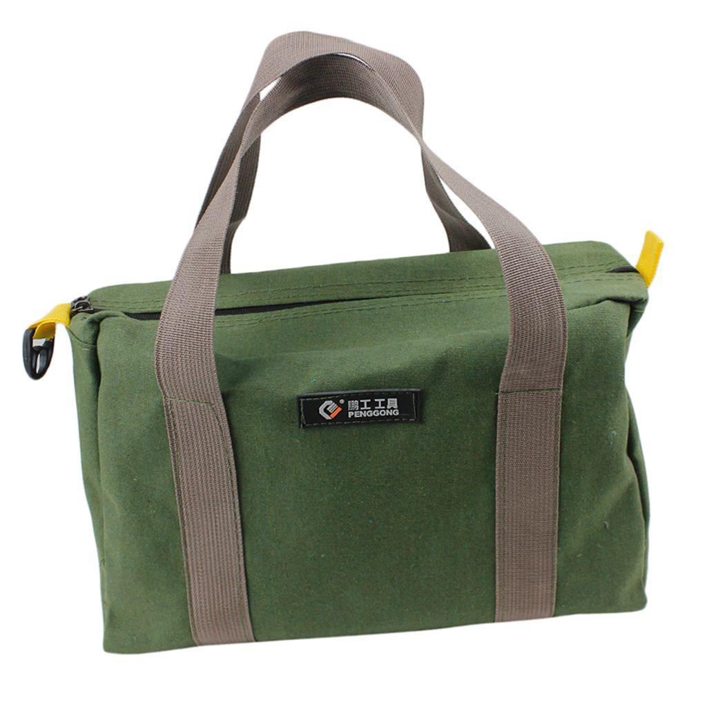 Tragbare Leinwand Tool Bag Tote Toolkit Speicher