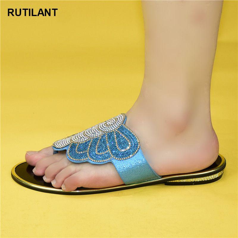 Neue Art und Weise heiße verkaufende italienische Art Slingbacks Afrikanische Frauen Slipper Damen-Schuh für Party-Schuhe Damen 2020