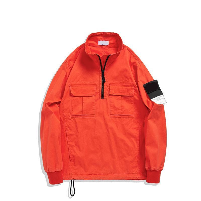 Topstoney 2020 Konng Gonng Primavera y otoño Nuevo Estilo Headgear High Version De Moda Marca Chaqueta Trench Coat