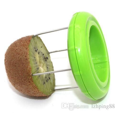 2 in 1 Kiwi Cutter Slicer Peeler Digging Core Twister Kiwifruit Slicer Gadgets Fruit Kitchen Tools Accessory