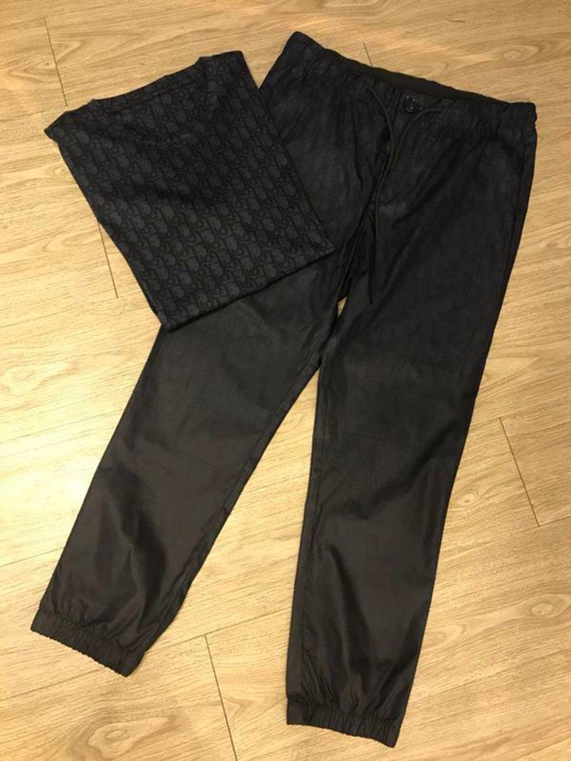 20ss para hombre de la camiseta de los pantalones del verano del resorte T Gradiente letras letra de la impresión de la raya camiseta de algodón de manga corta de la calidad