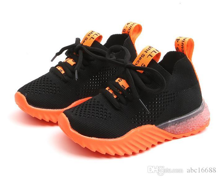 Children Kids Running Sports Shoes Trainers Girls Boys School Sport Shoes Size