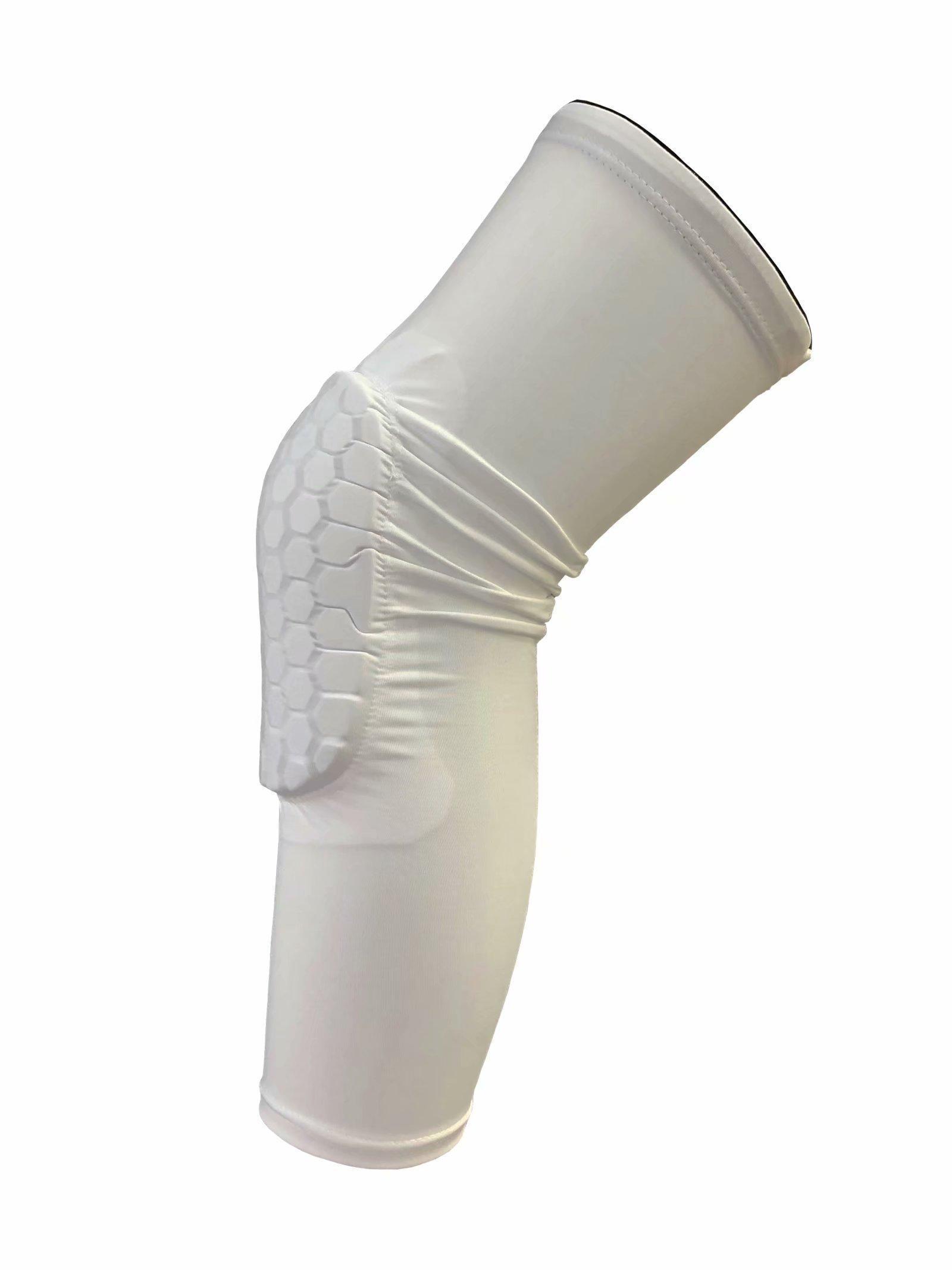 2019 genou de basket-ball de sécurité Tapis adulte / enfant Antislip pad en nid d'abeille Genouillère jambe compression mollet rotule vélo protège-genoux 10
