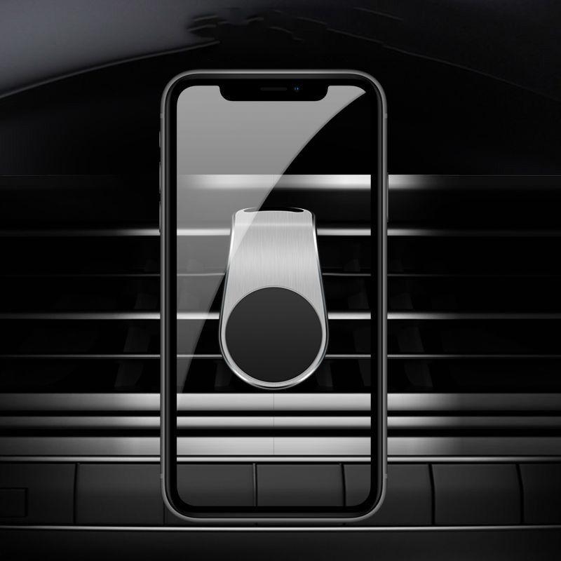Car Phone Holder Para Suporte Mobile Phone In Car Magnetic Telefone Mount suporte para tablets e smartphones