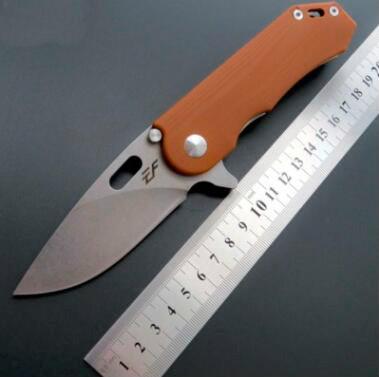 eafengrow EF32 D2 G10 de la lámina manija táctica de caza plegable del cuchillo del cuchillo de la supervivencia del bolsillo herramientas multi navidad
