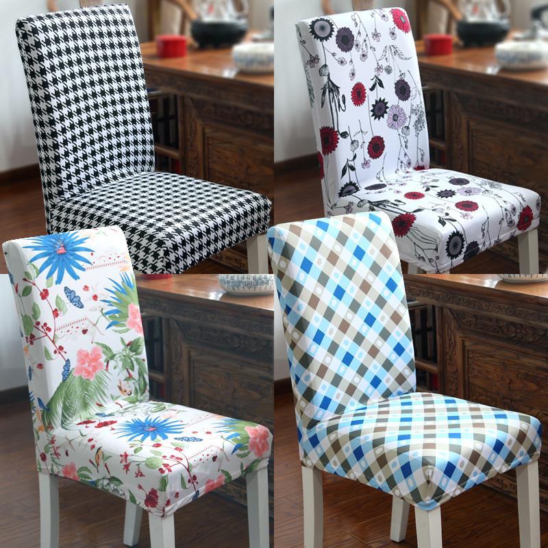Evrensel Stretch Sandalye Kapak Siyam Kılıf Modern Minimalist Ev Yemek Düğün Ziyafet Sandalye Dekor Kapaklar