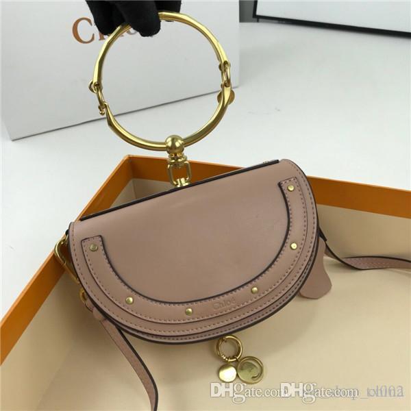 venta caliente de las mujeres del diseñador famoso bolso de hombro nueva bolsa genuina pulsera de cuero crossbody bolsa de estrella 7264991 Chol tamaño de serie 20 * 6.5 * 12cm