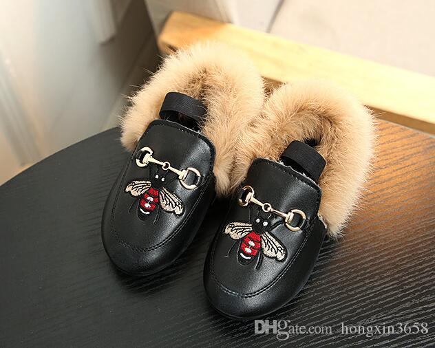 خريف وشتاء الاطفال طفل بنات أحذية أزياء الأطفال أحذية أطفال القطيفة متعطل بنات الأميرة حزب أحذية المخملية مطرز عارضة Sneake