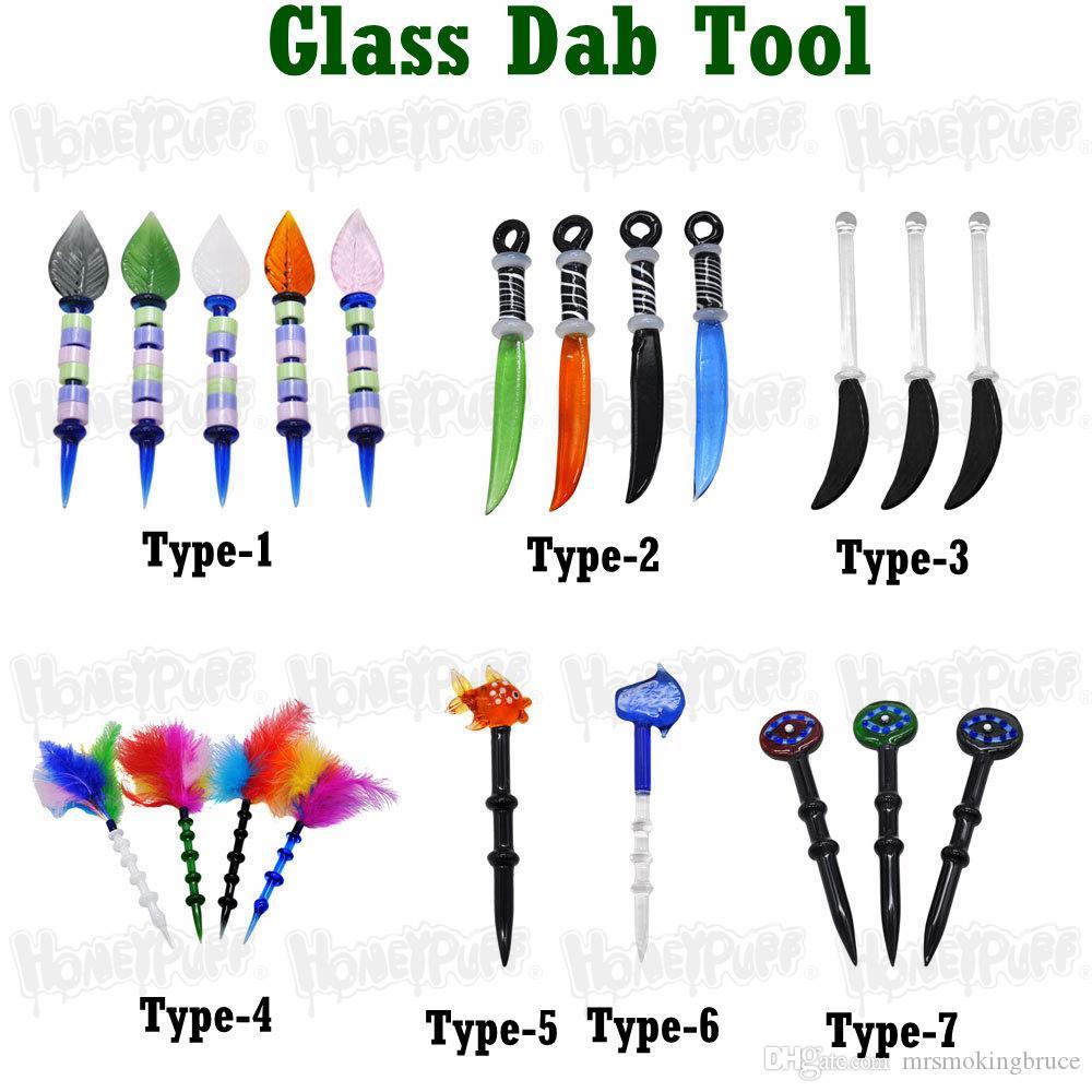 Различный размер Wax Dabber Tool CARB CAP и WAX OIL OIL RAP TOP TOP TRAIC TORE для гвоздей DAB Nail и кварцевые ногти