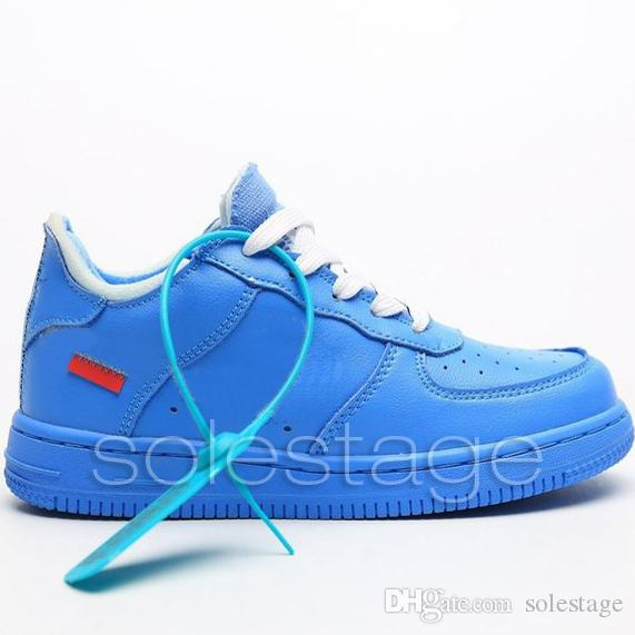 off white black red blue yellow shoes