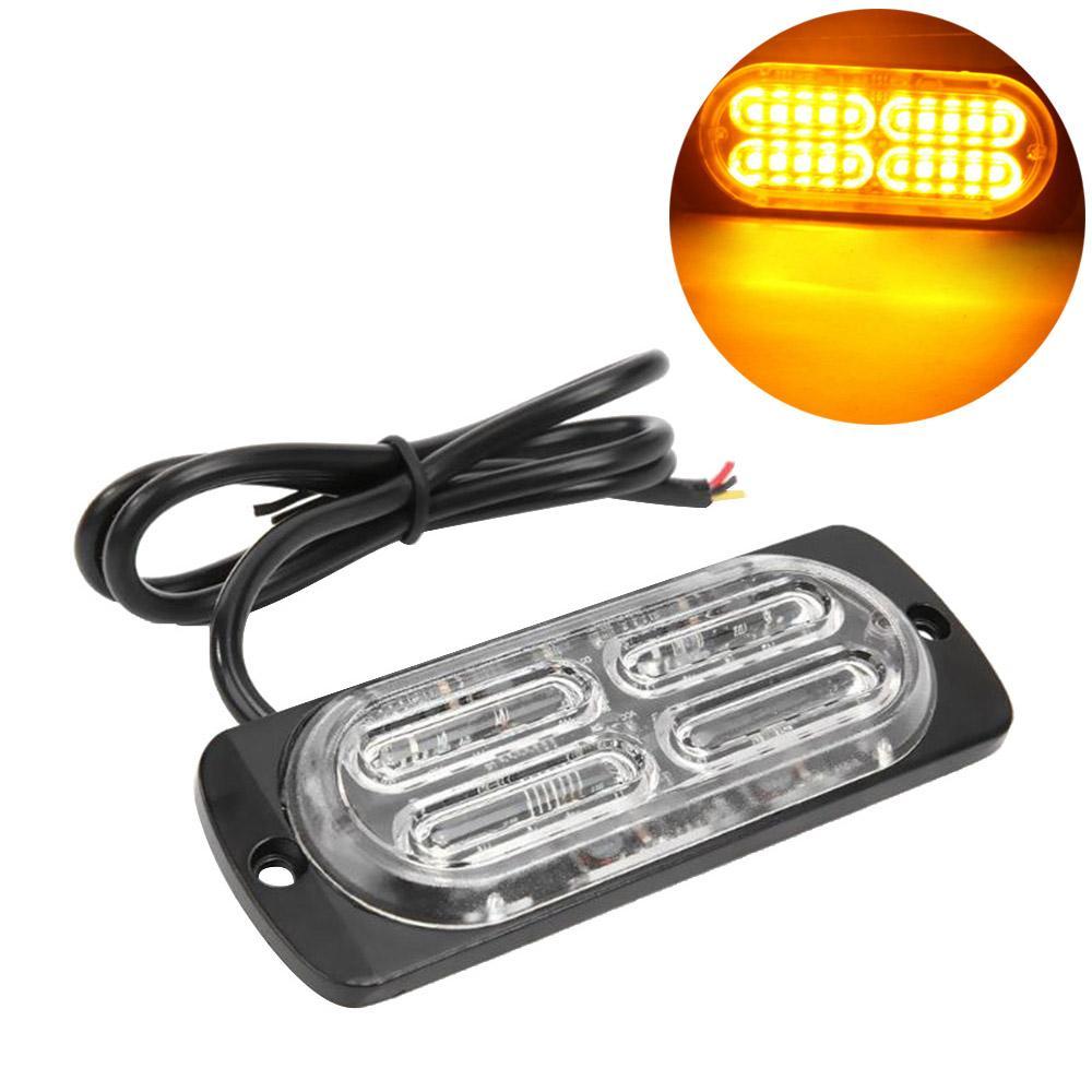 1PC Car Strobe Light 20 LED 12V-24V 20 del camion dell'automobile LED laterale Emergenza Strobe Attenzione lampeggiante fari Fendinebbia universale