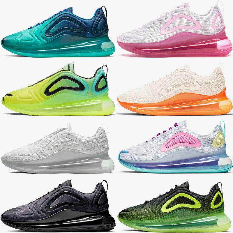 Preto Neon Streaks ESPÍRITO TEAL New Color Northen luzes Dia Lobo Noite Cinzento Vermelho Homens estilista Shoes sol Sunrise Correndo Sneakers Trainers