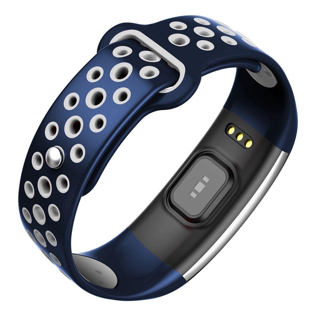 Q6 مقتفي لياقة بدنية سوار ذكي ضغط دم أوكسجين مراقبة ضغط الدم ضد الماء IP68 إرتفاع ساعة يد مراقبة لaiphone أندرويد