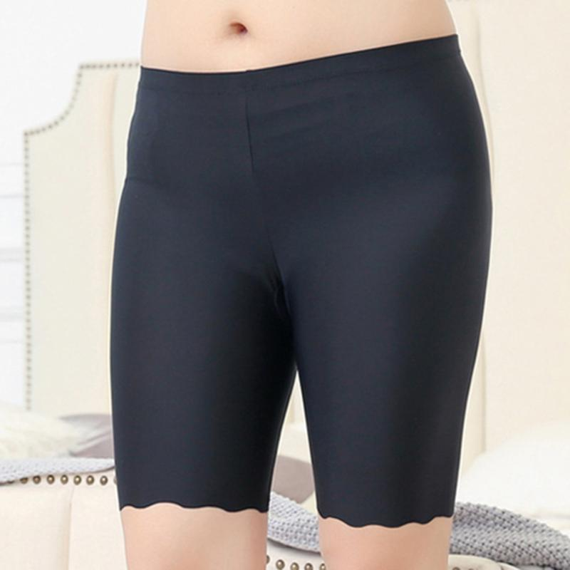 Women's Cotton Fitness Safety Short Pants Safety Pants Tight Sheer Skinny Stretch Yoga Short New